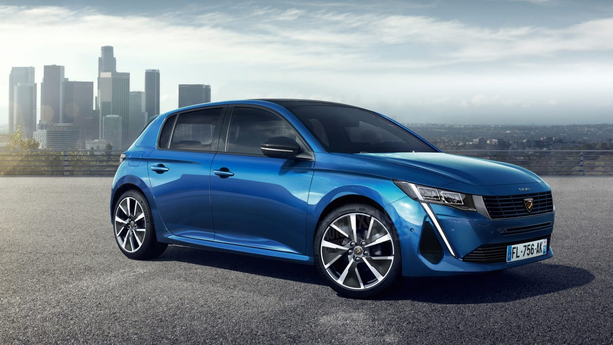 New Peugeot 308 hatchback set to arrive in 2021